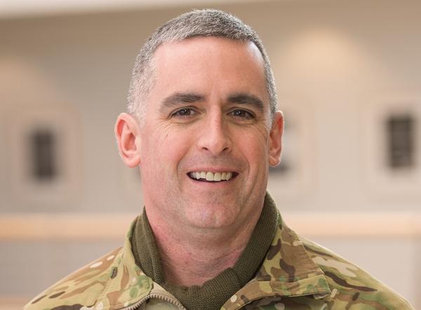 Lt. Col. Christopher Heatherly (Courtesy of WSU Army ROTC)