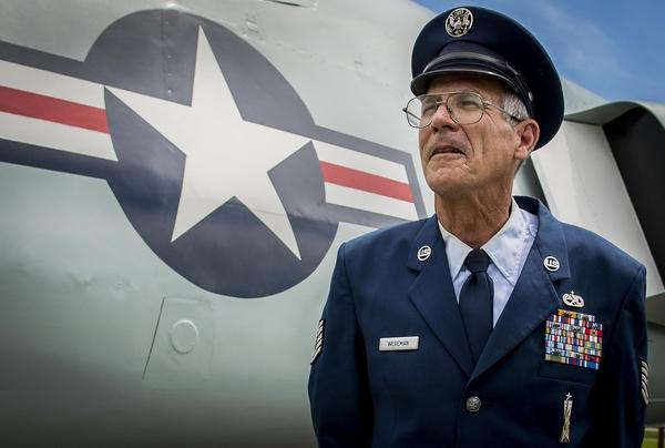 Tech. Sgt. Robert Wegeman served in the Air Force for 41 years. (Tech. Sgt. Sam King/Air Force)