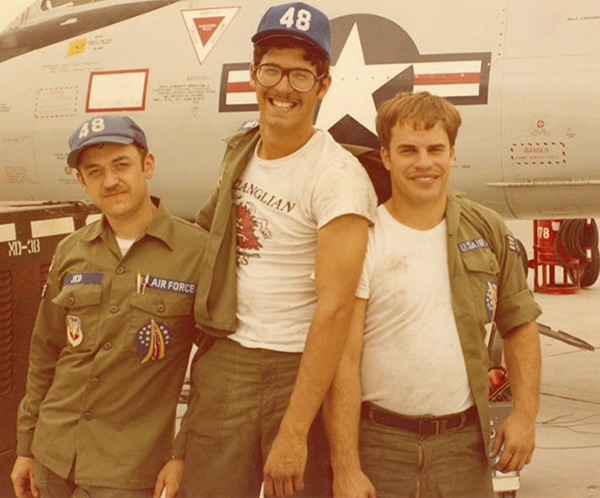 Tech. Sgt. Robert Wegeman was a crew chief on the F-106 Delta Dart starting in the 1970s at Langley Air Force Base, Virginia. (Courtesy photo)
